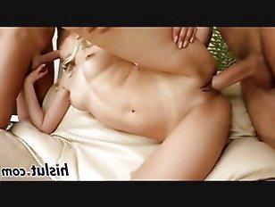 Эротика Блондинка потаскушка удовольствия два массивных члена порно видео