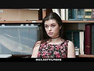 Эротика Shoplyfter-Горячий Подросток Получает Наказание За Кражу порно видео