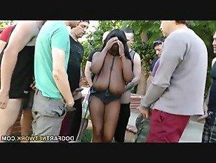 Эротика Грудастая Негр Рейчел Raxxx Получает Gangbanged порно видео