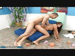 XXX Порно Гибкий носок присоски pussydrilled собачьи HD секс видео