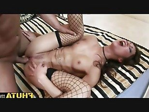 ХХХ Порно Fhuta Анджелина Ворона любит, чтобы попробовать ее задницу на жесткий петух HD секс видео