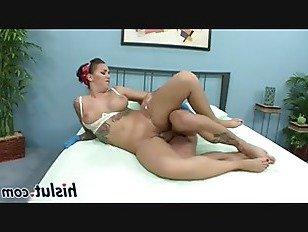 ХХХ Порно Массивный стержень для потрясающей секс-бомбы HD секс видео
