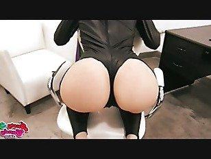 Эротика Большая Задница Блондинка Подросток В Костюме Спандекс. порно видео