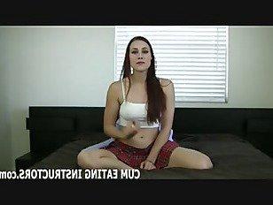 Эротика Вы будете любить вкус вашей собственной спермы ЦЕИ порно видео